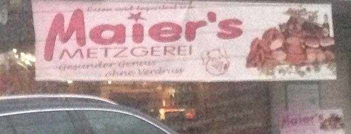 Maier's Metzgerei is one of Essen gehen.