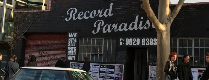 Record Paradise is one of Melbourne Record Stores.