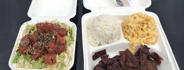 Koa's Hawaiian BBQ is one of Portland.