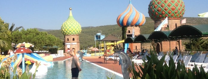 Adaland Aquapark is one of Orte, die Mehmet Ali gefallen.