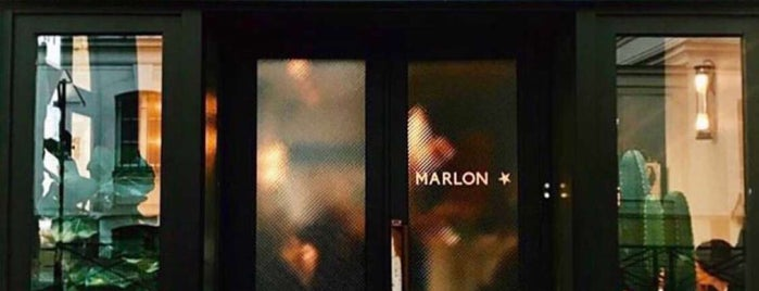 Marlon is one of Manger.paris.