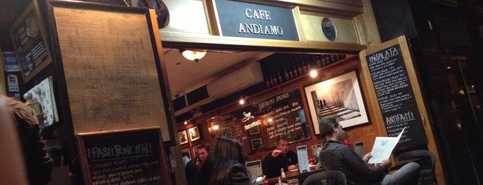Café Andiamo is one of Posti che sono piaciuti a Rishe.