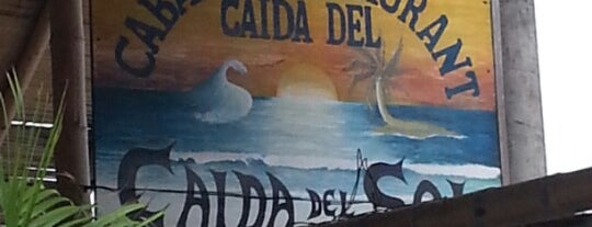 cabaña bar restaurante Caída del Sol is one of Lugares favoritos de lupas.