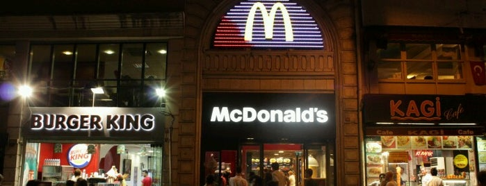 McDonald's is one of Posti che sono piaciuti a Samet.