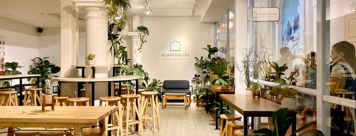 The Glasshouse - Specialty Coffee & Toast Bar is one of Potable Coffee Global.