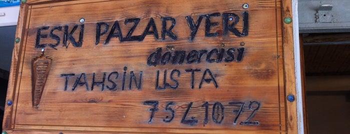 Eski Pazar Yeri Dönercisi Tahsin Usta is one of Orte, die Cesim gefallen.