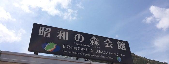 伊豆半島ジオパーク 天城ビジターセンター is one of 伊豆.