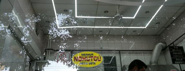 Nohutçu Metin Usta is one of Nohut Dürüm | Gaziantep.