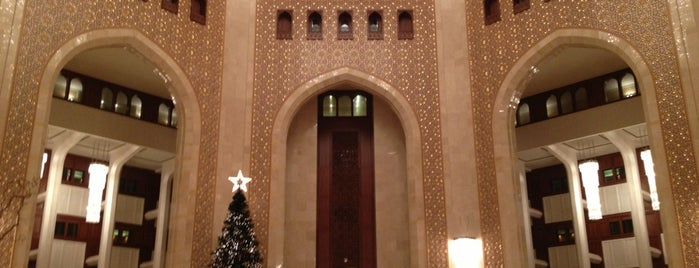 Al Bustan Palace, a Ritz-Carlton Hotel is one of Where to go in Oman.