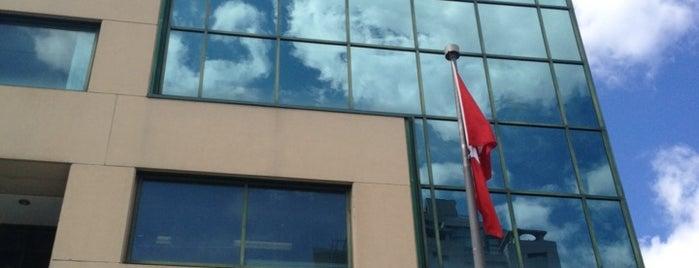 Turkish Consulate General - Toronto is one of สถานที่ที่ gzd ถูกใจ.