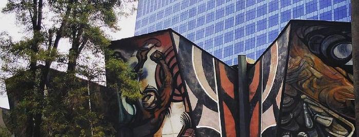 Polyforum Cultural Siqueiros is one of Mexico City.