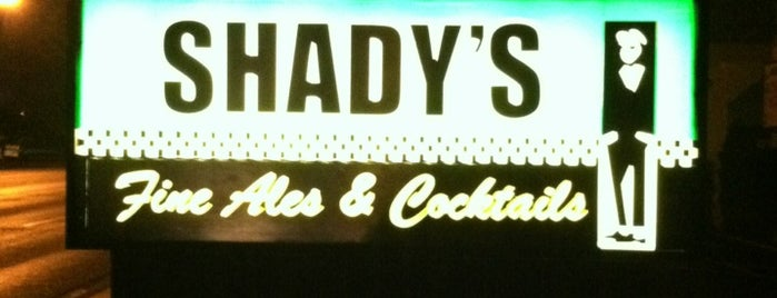 Shady's Fine Ales and Cocktails is one of Phoenix New Times.