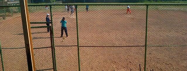 Lapangan Softball Dharmawangsa is one of Characteristic of Surabaya.
