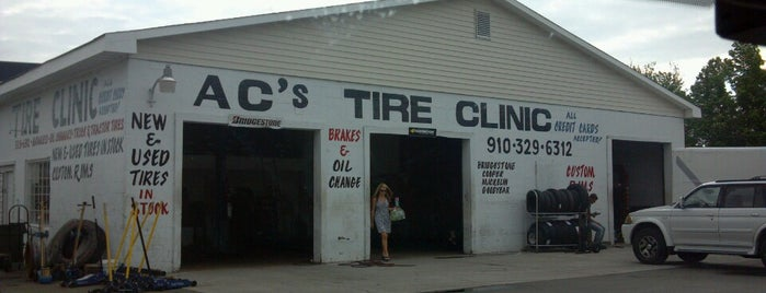 AC's Tires is one of Davidさんのお気に入りスポット.