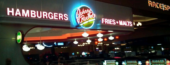 Johnny Rockets is one of Vegan dining in Las Vegas.