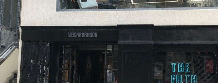NEIGHBORHOOD 原宿 is one of Japan.