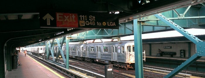 MTA Subway - 111th St (7) is one of Orte, die Mei gefallen.