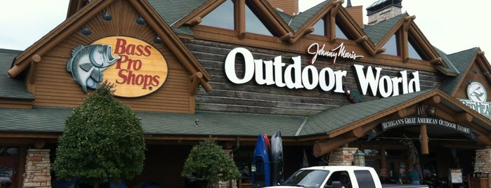 Bass Pro Shops is one of michigan.