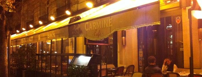 Carmine Café is one of Esra 님이 좋아한 장소.