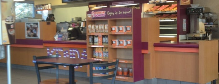 Dunkin' is one of Kevin : понравившиеся места.
