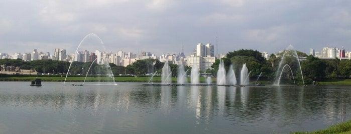 Parque Ibirapuera is one of Programa A2 ;).