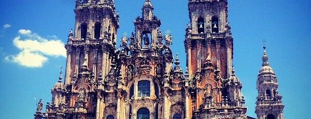 Catedral de Santiago de Compostela is one of Sitios Internacionales.