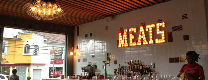 Meats is one of Sao Paulo's Best Burgers - 2013.