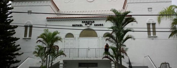 Greater Bethel  African Methodist Episcopal Church is one of Lieux sauvegardés par Prevart.