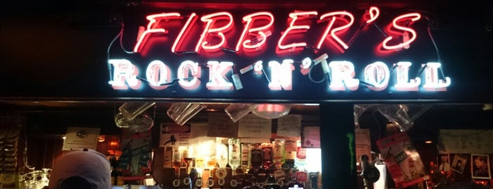 Fibber's Rock Bar is one of Pints.
