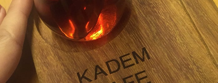 Kadem Cafe is one of Lieux qui ont plu à Deniz.