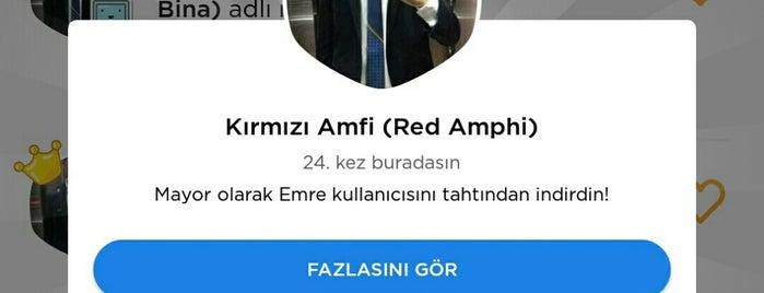 Kırmızı Amfi (Red Amphi) is one of Türk Hava Kurumu Üniversitesi.