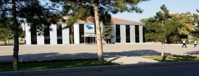 Administration (İdari Bina) is one of Türk Hava Kurumu Üniversitesi.