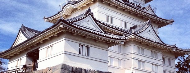 Odawara Castle is one of Hakone, Japan.