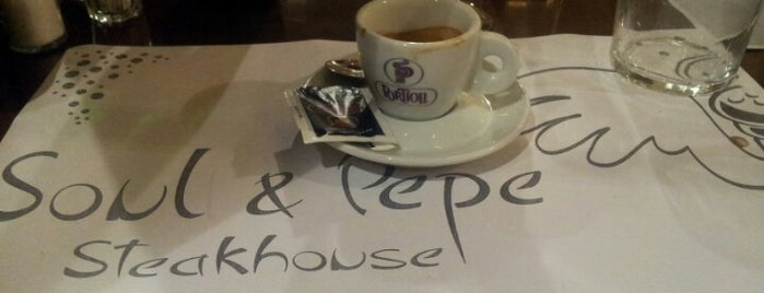 Soul & Pepe steakhouse is one of Risto visitati.