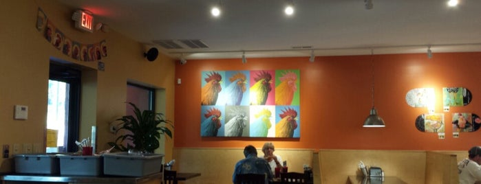Rocky's Hot Chicken Shack is one of North Carolina.