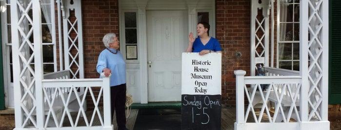 Fields-Penn 1860 House Museum is one of Southwest VA.