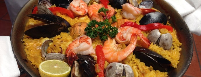 La Paella is one of LA.
