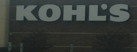 Kohl's is one of Orte, die Tammy gefallen.
