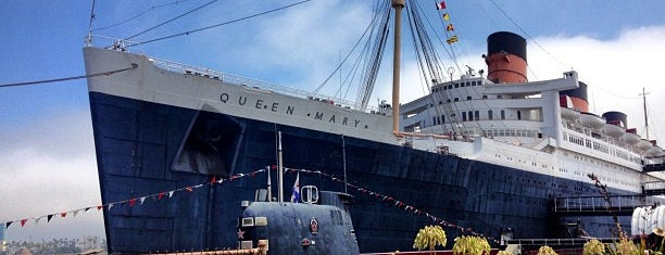 The Queen Mary is one of US Landmarks.