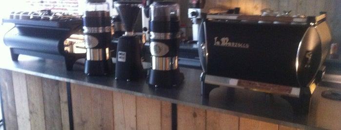 Espressobar - I Love Coffee is one of Belgium Coffeebars.