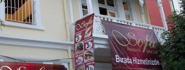 Sofa Restaurant & Sanat Cafe is one of Gezdim.