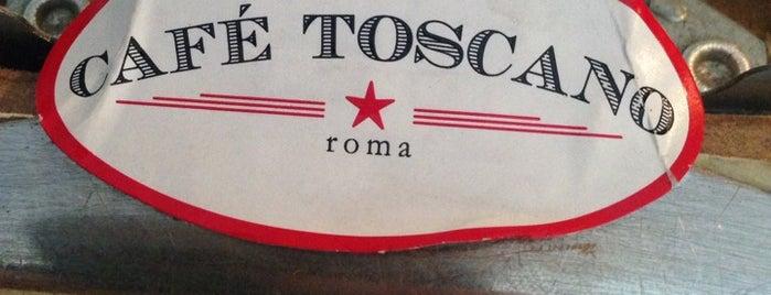 Café Toscano is one of VoltaBikeFriendly.