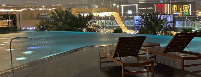 Address Boulevard Lobby Lounge is one of Dubai's must places.