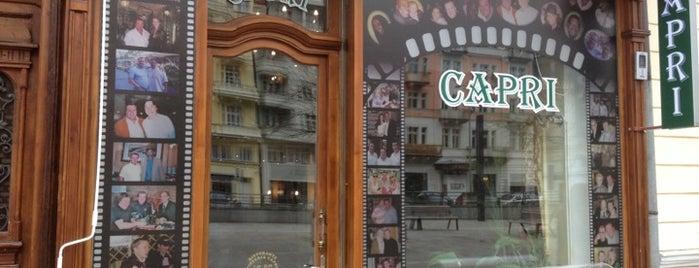 Pizzeria Capri - Ristorante is one of PRAGUE.