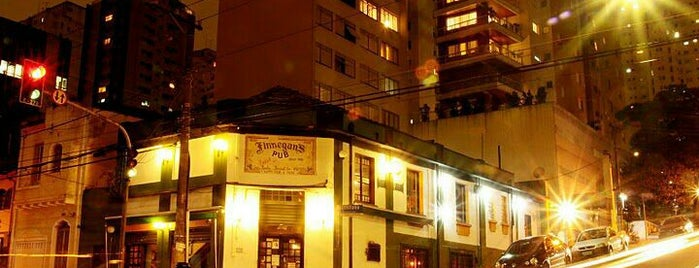 Finnegan's Pub is one of Pinheiros e Vila Madalena.