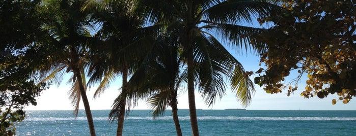 Truman Annex Beach is one of Key West.