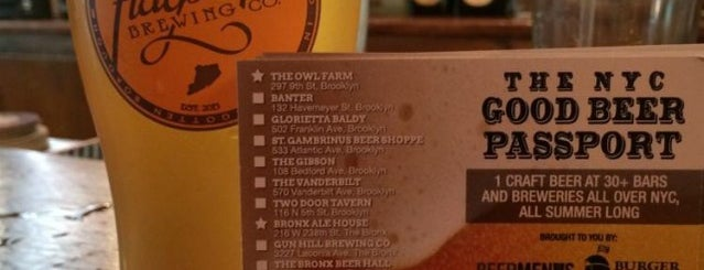 Adobe Blues is one of NYC Good Beer Passport (2014).