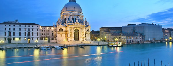 Basilica di Santa Maria della Salute is one of Venice.