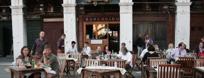 Bancogiro is one of Bacari e non - Venezia.