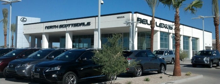 Bell Lexus North Scottsdale is one of Tempat yang Disukai Barry.